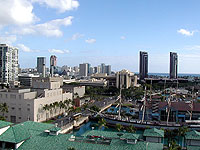 View of Honolulu from Aloha Tower